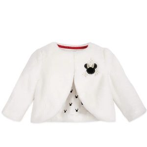 Disney baby 18-24 months holiday faux fur jacket